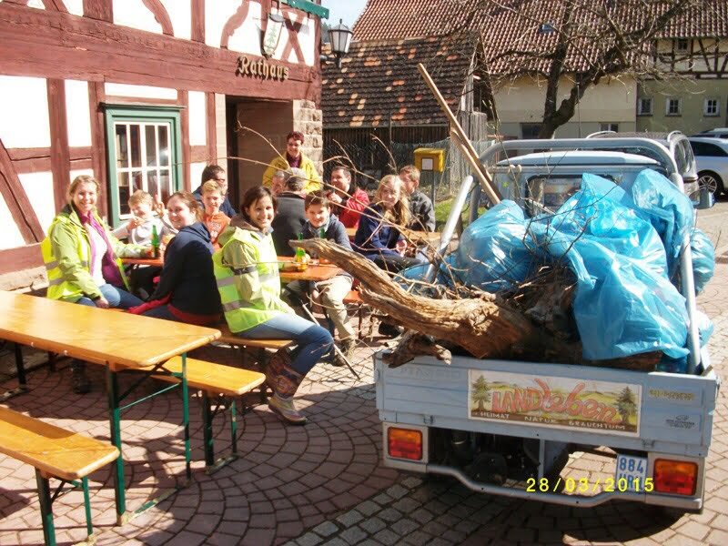 13. Dorfputz in Trichtingen
